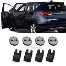 Genuine Door Lock Checkers Striker Cover 8Pcs for HYUNDAI 2013-2017 Santa Fe DM