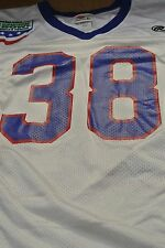 HUMANITARIAN BOWL LOUISIANA TECH CRUCIAL.COM GAME WORN FOOTBALL JERSEY L #38