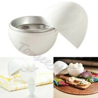 «Top» White Microwave 4 Egg cooker Steamer Kitchen Kettle accessories Egg Cook