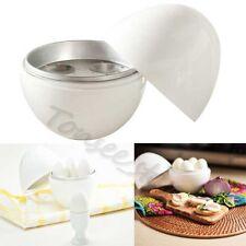 «Top» Bianco Microonde 4 cuociuova Battello Cucina Accessori per bollitore Egg