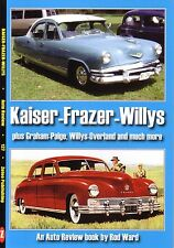 Book - Kaiser Frazer Willys - Graham Paige Overland Jeep American - Auto Review