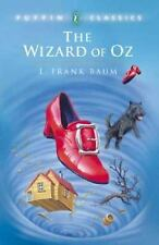 THE WIZARD OF OZ by L. Frank Baum, classic children's chapter book, paperback