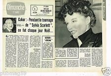 Coupure de Presse Clipping 1972 (2 pages) Sylvia Scarlett Katharine hepburn