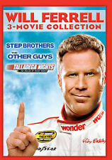 Will Ferrell 3-Movie Collection (DVD) Step Brothers Other Guys Talladega Nights
