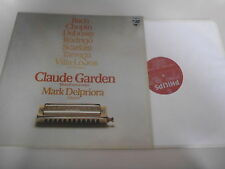 LP Klassik Claude Garden / Mark Delpriora - Mundharm u Gitarre (13 Song) PHILIPS