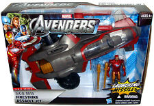 Avengers Iron Man Firestrike Assault Jet MIB Toy Vehicle Marvel Comics Hasbro