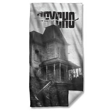 "Psycho Horror Movie House Licensed Beach Towel 30"" X 60"""