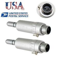 2X Air Motor 2 Hole Dental Slow Low Speed Handpiece E-type 2H fit NSK-USA seller
