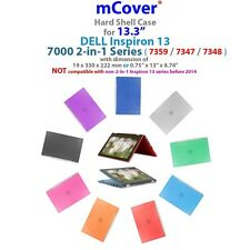 "NEW mCover Hard Shell Case for 13.3"" Dell Inspiron 13 7359 / 7347 / 7348"
