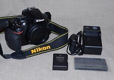 Nikon D D5200 24.1MP DSLR Camera Body Only FAST SHIPPING to USA / CAN MSRP $500