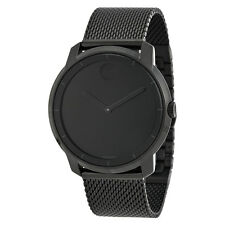 Movado Bold Black Dial Black Ion-plated Unisex Watch 36002613600261