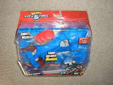 New Hot Wheels Battle Force 5 Water Slaughter Vehicle with Sever Driver