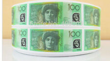 $100 note Ribbon Australian Dollar One hundred dollar note