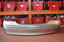 MERCEDES C CLASS W203 C200 KOMPRESSOR REAR BUMPER IN PEWTER SILVER METALLIC