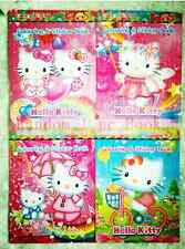 Hot 1pc/Lot Hello-Kity Cartoon Stickers Coloring Books-Kid Gift(No Coloring Pen)