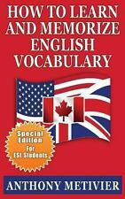 How to Learn and Memorize English Vocabulary : ... Using a Memory Palace...