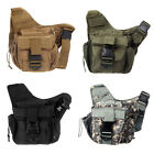 Tactical Shoulder Bag Pouch Backpack Camera Back Packs Military Bag Outdoor US