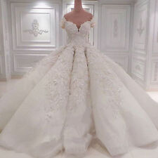 New White/ivory Wedding dress Bridal Gown custom size 6-8-10-12-14-16 18+++