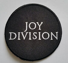 PUNK ROCK HEAVY METAL MUSIC SEW ON / IRON ON PATCH:- JOY DIVISION IAN CURTIS