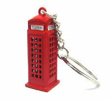 LONDON TELEPHONE BOXE KEY RING - RED PHONE BOX KEYCHAIN