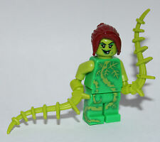 Custom Batman POISON IVY made using LEGO parts batman figure poison ivy