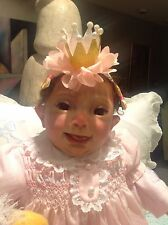 "Vince, Sweet Down Syndrome Angel By Lillian Bredveld 20"" Of Beauty So Very Cute"