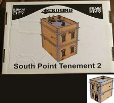 4Ground 28F-GOC-208 28mm Gothic City South Point Tenement #2 Terrain Building