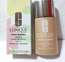 NEW in BOX - CLINIQUE EVEN BETTER MAKEUP - 03 IVORY - FULL SIZE - 1.0 OZ