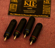 KLE Innovations Copper Harmony RCA Plugs - Set of 4