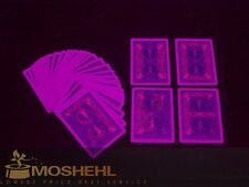 Bicycle marked cards on back Blue Numbers and suite . Poker cards magic. L0008