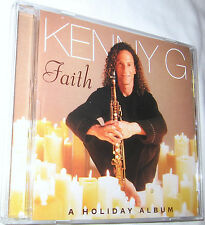 Faith A Holiday Album by Kenny G CD, Dec-1999, Arista, Free Shipping U.S.A.
