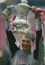 Jens LEHMANN SIGNED COA Autograph 12x8 Photo AFTAL Arsenal The GUNNERS RARE