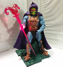 LASER LIGHT SKELETOR • C9 • 100% COMPLETE • MASTERS OF THE UNIVERSE CLASSICS
