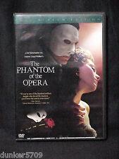 THE PHANTOM OF THE OPERA DVD 2005 ANDREW LLOYD WEBBER  APPROX 144 MIN PG13