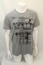 DKNY Jeans Men Crew Tshirt  Color Gray  Size  XSmall   NWOT Short Sleeve