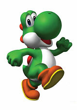 Mario Brothers Iron On Transfer Yoshi
