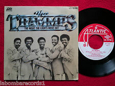 "THE TRAMMPS The Night The Lights Went Out 7"" ATLANTIC 1978 SPAIN Promo (EX/EX-)7"
