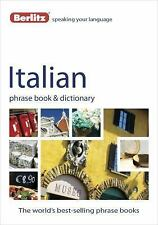 Phrase Book: Italian Phrase Book and Dictionary by Berlitz Publishing (2012,...