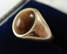 1960s 9ct Gold Tigers Eye Ring.