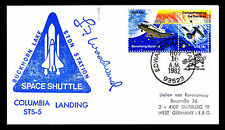1982 COLUMBIA LANDING STS-5 - BUCKHORN LAKE STDN STATION - EDWARDS AFB(ESP#2704)
