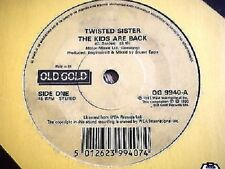 "TWISTED SISTER - THE KIDS ARE BACK / I AM      7"" OLD GOLD VINYL"