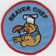 Boy Scout Badge embroidered BEAVER CHEF