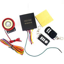 Motorcycle Anti-theft Security Alarm System Remote Control Engine Start Harley