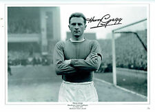 Harry GREGG Signed Autograph Manchester United 16x12 Goalkeeper Photo AFTAL COA