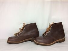 NEW W/ TAGS VTG MEN RANGER FARM WORK BROWN BOOTS  SIZE 9.5 EE