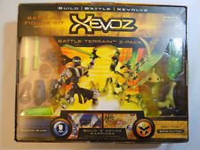 XEVOZ BATTLE TERRAIN 2-PACK NEO SAPIEN SHADOW BLADE VS. SECTOID BONE CUTTER MIB!