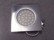 Caravan motorhome flush fitting 12V LED square downlighter spot light lamp PDL2