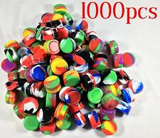 1000 NonStick 5ml Silicone Jar Containers Mixed Colors New Ball 5 ml wholesale