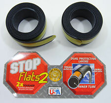 2 Stop Flats Anti-Flat/Puncture Bicycle Tire Liners 20x1.5-2.0 Set of 2