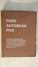 FORD autobook Five-Manuale officina per l'intervallo di 1967-68 Cortina